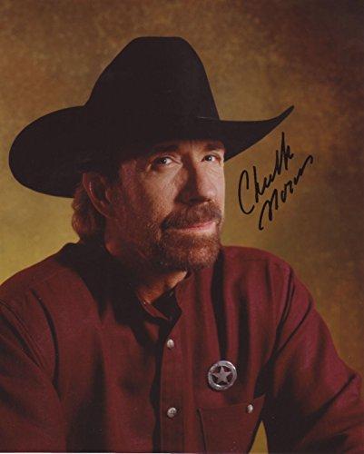 - Chuck Norris Autograph Signed 8 x 10 Photo