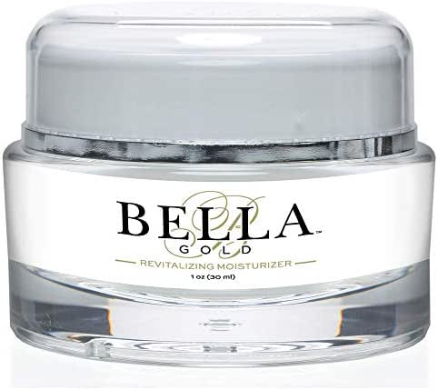 Bella Gold Revitalizing Moisturizer-Breakthrough Formula To Boost Collagen and Elastin.