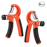 ZELUS Hand Grip Strengthener, Adjustable Hand Grip Exerciser (30-140 lbs.), Hand Strengthener, Forearm Grip, Hand Exercise, Strengthen Grip for Athletes Rock Climbers Men Kids & Hand Rehabilitation Review