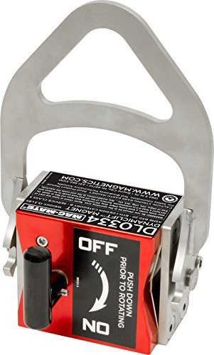 MAG-MATE DL0334 Dynamic lift Lift Magnet, 334 lb. Lift, 334 lb. Load Capacity, 9.25