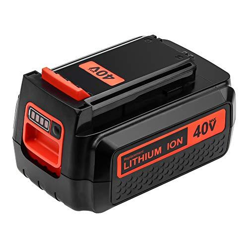 Topbatt Replacement Battery for Black and Decker 40V 3.0Ah Lithium MAX Battery LBX2040 LBXR36 LBXR2036 LST540 LCS1240 LBX1540 LST136W