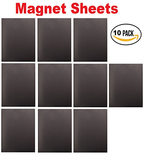 ⚡Corneria 10 Pack 8X10' Magnetic Magnets Sheets 20 mil Magnets Sticker Board for DIY Dies⚡