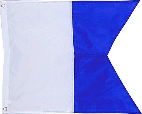 (Scubamax Alfa International Dive Flag)