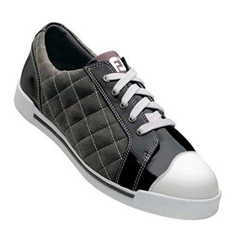 Footjoy Womens Summer Series - FootJoy Women's Summer Series Charcoal/Black 98935 Golf Shoes 10 M US