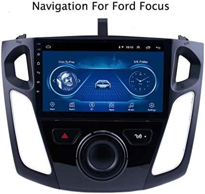 9インチスクリーンカーラジオAndroid 8.0 1 G + 16 GラジオとGPS GPSナビゲーション2012-2017フォードフォーカスをサポート