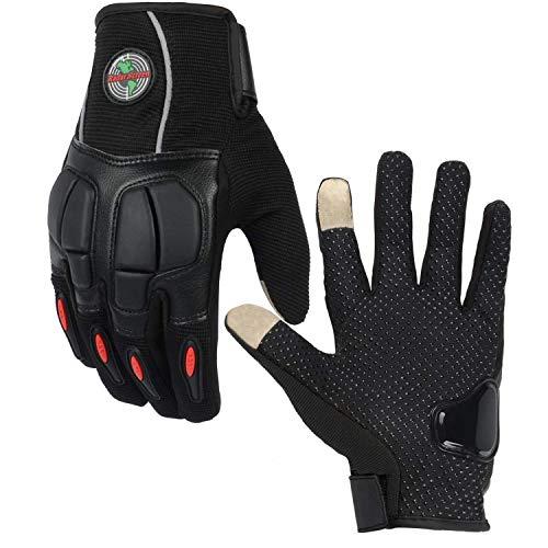 (Radar Screen Full Finger Motorcycle Gloves Sport GlovesTouch Screen Tactical Gloves for Combat Bike Hunting)