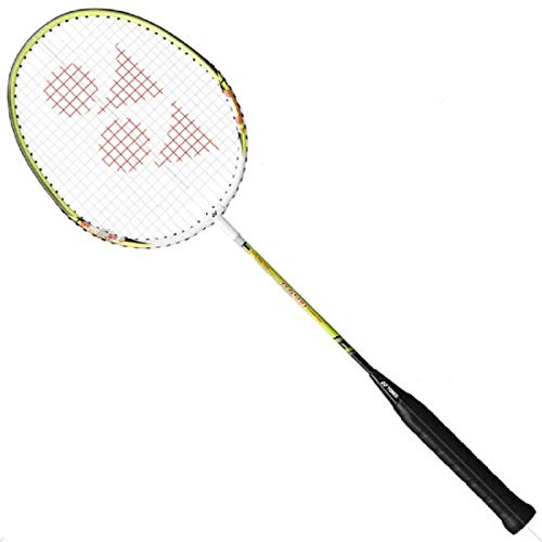 Yonex Badminton Racket -B- Series with Full Cover High Tension Pre Strung Racquets (Senior, B-6500 (W/LM) ()
