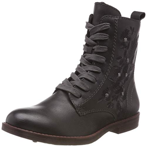 Tamaris Women's Combat 25114 Boots Anthracite Grey 21 214 qHq8xvOw