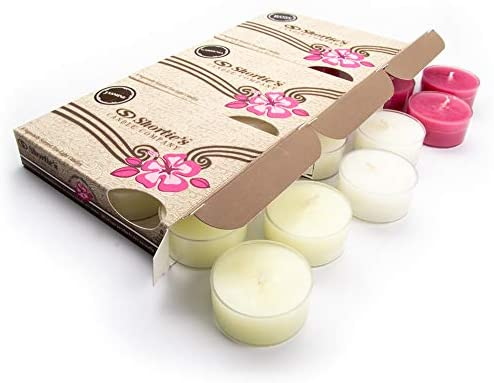 Floral Tealight Candles