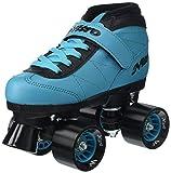Epic Skates 2016 Nitro Turbo 5 Indoor/Outdoor Quad Speed Roller Skates, Blue