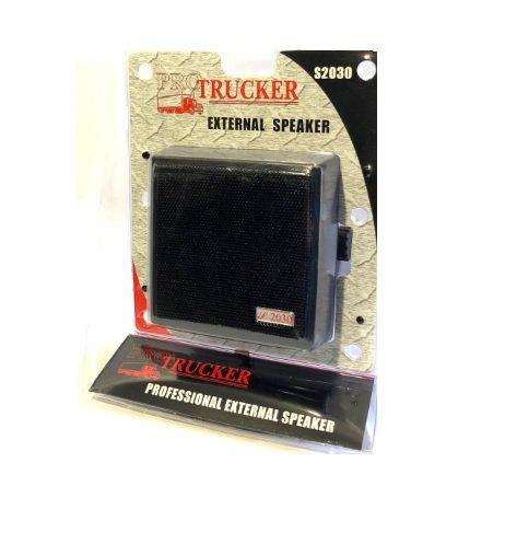 Pro Trucker 4.5'' 20 Watt Dynamic Noise Cancelling External Speaker