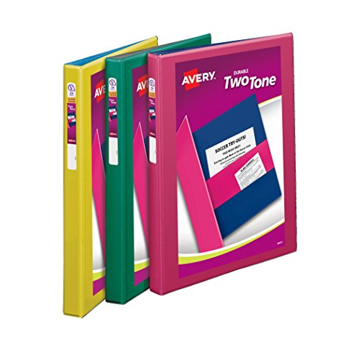 Avery Durable Binders Assorted 17241