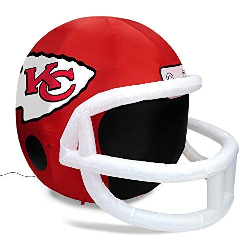 - Fabrique Innovations NFL Inflatable Lawn Helmet, Kansas City Chiefs