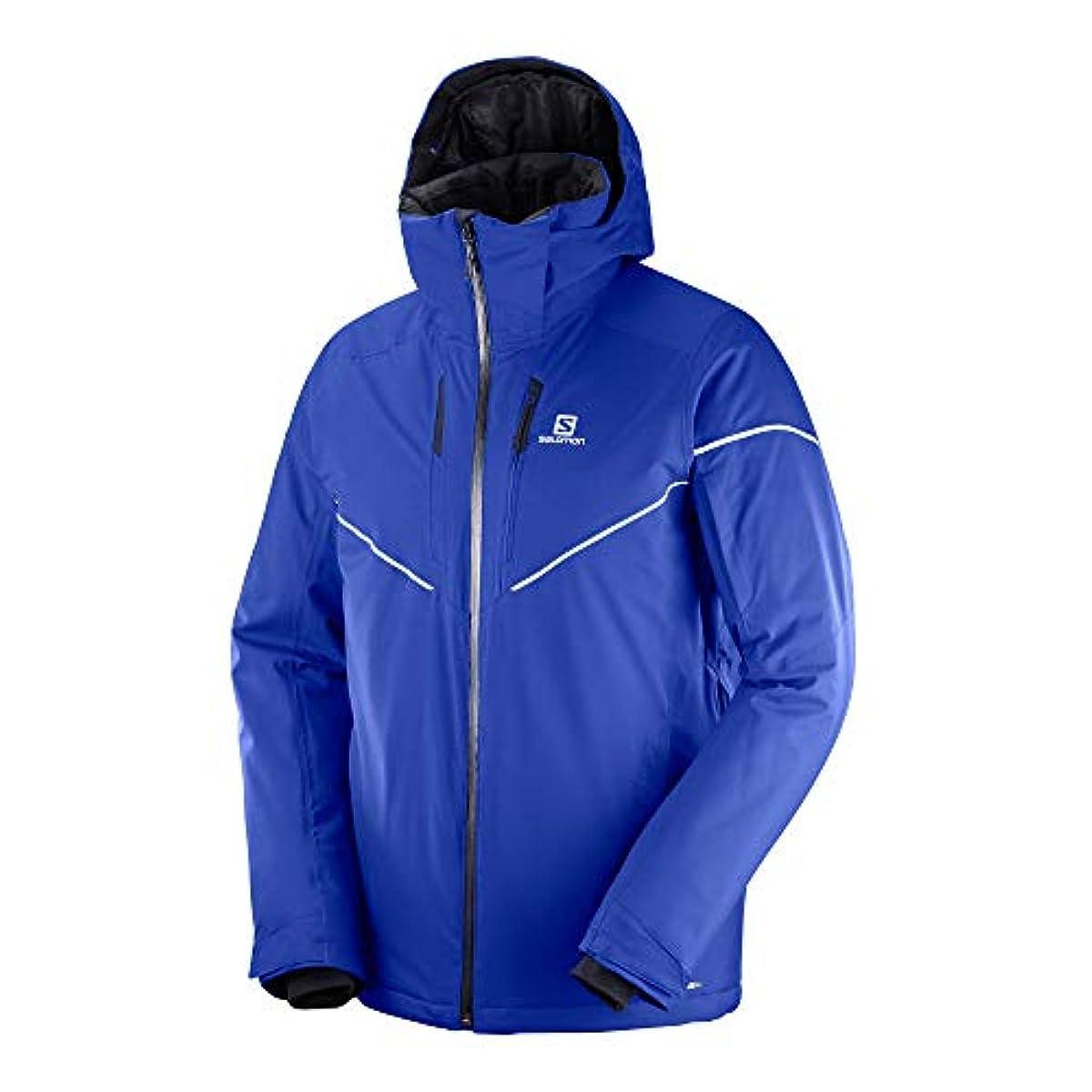 [해외] 살로몬SALOMON 스키 웨어 맨즈 재킷 STORMRACE JACKET MEN 스톰 레이스 재킷 맨즈 2018-19년 모델 사이즈S~XL