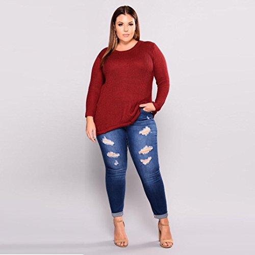 Jeans Bleu Stretch pour Pantalon GreatestPAK Taille Denim Haute Jeans 2018 Pantalons Jeans Slim Plus Taille Femmes ypzzEZ