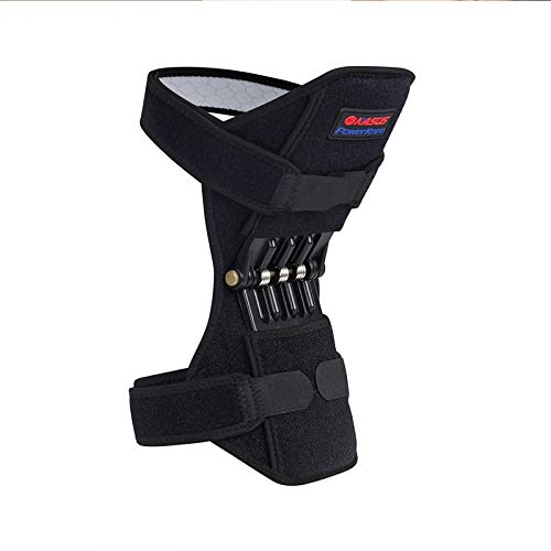 QYLLXSYY Knee Pad Brace Joint Support Knee Pads Power Lifts Knee Protection Boost Knee Band Mountaineering Deep Care Kneepad (Color : 1PC) by QYLLXSYY