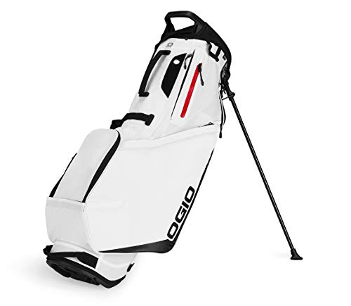 OGIO SHADOW Fuse 304 Golf Stand Bag, White (Golf Stand Bag)