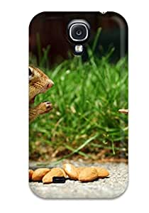 Best Case Cover Protector For Galaxy S4 Squirrel Fight Cute Case 6982164K13381074