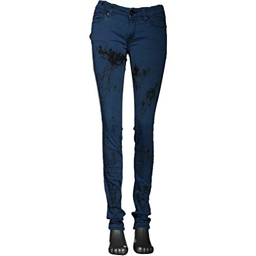 REPLAY Damen Jeans LUZ Skinny WX689 Blau