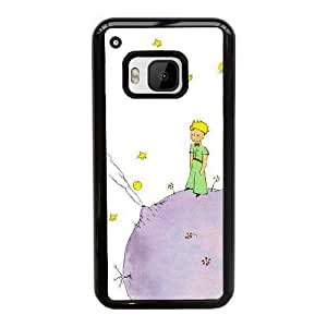 Customize Cell Phone Case HTC One M9 Case Cover Black Cartoon The Little Prince 12QW4690855