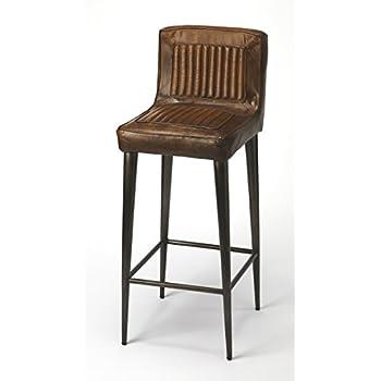 Astonishing Amazon Com Butler 2050025 Trenton Metal Wood Revolving Machost Co Dining Chair Design Ideas Machostcouk