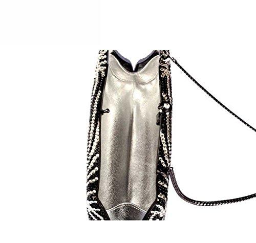 Señora Bolso De Noche Lujo Vestido Diamantes Bolso OneColor