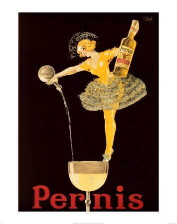 Pernis Wine. Vintage Advertising Reproduction Poster (16 x 20) - Vintage French Wine