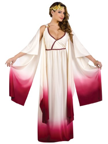 Venus Goddess of Love Costume - Medium/Large - Dress Size (Goddess Of Love Costume For Halloween)
