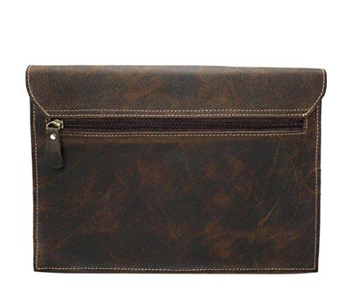 SHOUTIBAO cuoio modo sacchetti sacchetto viaggio di uomini Borse shopping degli spalla retro di di di messaggero rEArwqRp