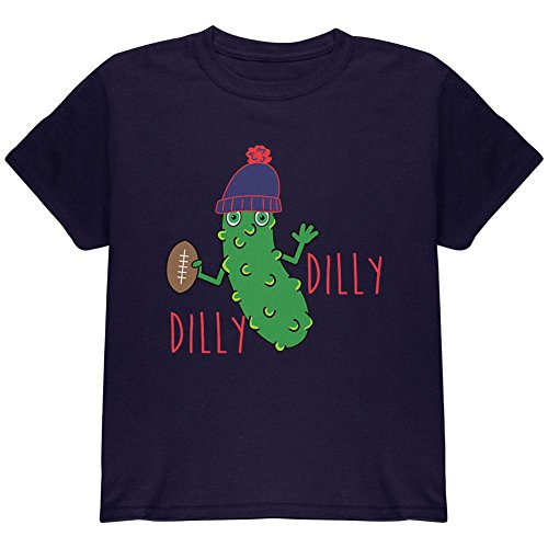 Glory Kids T-shirt (Old Glory Vegetable Pickle Dilly Dilly Football Youth T Shirt Navy YSM)