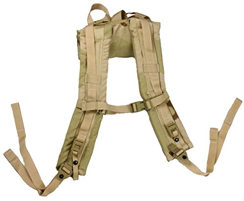 Military Outdoor Clothing Desert Molle Shoulder Straps, Camo, One Size