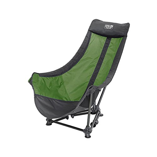 Price comparison product image Eagles Nest Outfitters ENO Lounger DL Camping Chair, Outdoor Lounge Chair, Lime/Charcoal,One Size