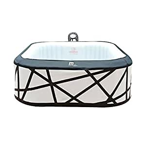 Amazon.com: MRT SUPPLY - Jacuzzi hinchable de lujo Soho 4 ...