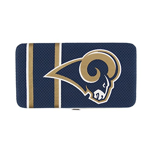 NFL St. Louis Rams Shell Mesh Wallet (Jersey Rams Purse Louis)