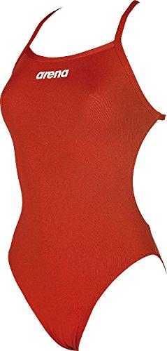 arena Damen Trainings Profi Badeanzug Solid Lighttech High (Schnelltrocknend, UV-Schutz, Chlorresistent)