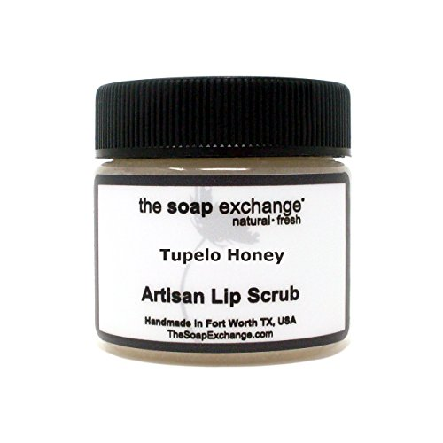 The Soap Exchange Lip Scrub - Tupelo Honey Flavor - Hand Cra