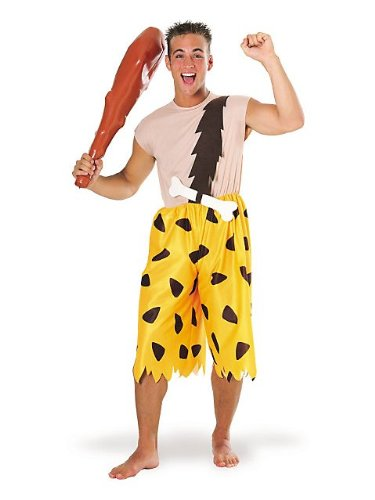 Rubie's Costume Bamm-Bamm Rubble Adult Costume - X-Large