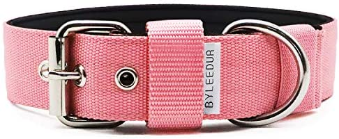 1.57″ Heavy Duty Combat Dog Collar with...