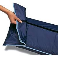 RAYEN 2391 Rug Storage Bag Transparent Window, 10.3 80.7-Inch