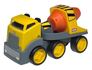 Little Tikes Rugged Riggz Cement Truck with Soft Rubber Tires