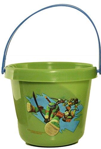 Nickelodeon Teenage Mutant Ninja Turtles 8 Mini Bucket Birthday Party Favors (Disney Doc Mcstuffins Favor Bucket)