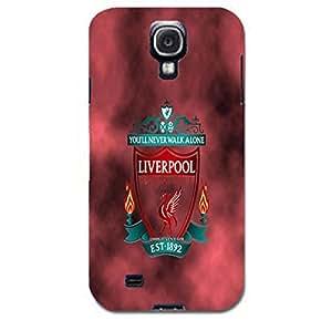 Liverpool Football Club Phone Case Classic Retro Liverpool FC Logo Design 3D Hard Phone Case for Samsung Galaxy S4 I9500