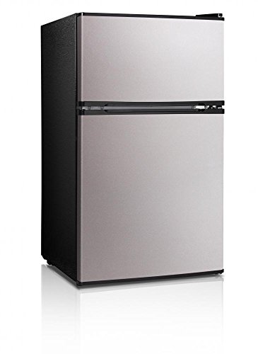 midea-whd-113fss1-double-reversible-door-refrigerator-and-freezer-31-cubic-feet-stainless-steel