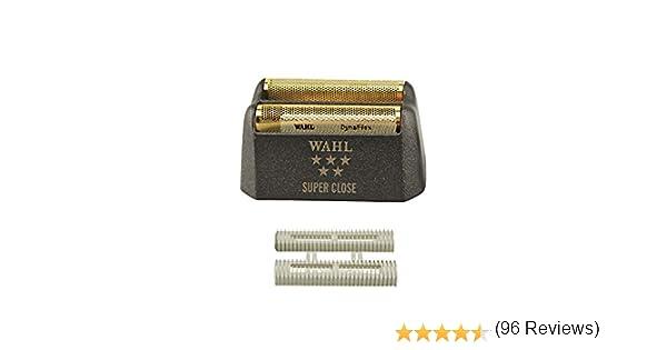 Wahl WA-7043 - Cuchilla de afeitar con lámina de oro ...
