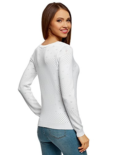 Ultra oodji Femme Textur Maille Pull UdqadT