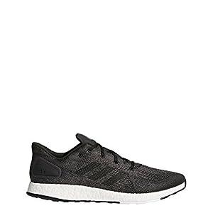 adidas Pureboost Dpr Shoe Mens Running 7.5 Dark Grey Solid-White-Core Black