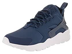 Nike Women's Air Huarache Run Ultra Navydiffused Blueobsidian Running Shoe 9.5 Women Us