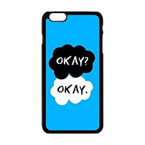 Cool Painting Cartoon warm dialogue Cell Phone Case for Iphone 6 Plus