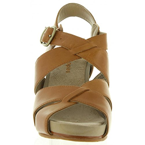 de Mujer HUSH MARRON Sandalias 560602 PUPPIES FINTAN 50 CLAIR 91 Rdwagq5