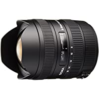 Sigma 8-16mm f/4.5-5.6 DC HSM FLD AF Ultra Wide Zoom Lens for APS-C sized Sony Digital DSLR Camera